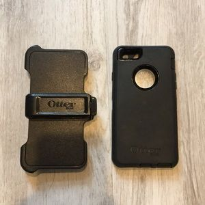Otter Box iPhone 6S case and holder with clip